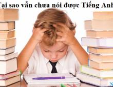 Tại sao học từ rất nhiều từ vựng nhưng vẫn không giao tiếp được?