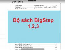 Bộ sách BigStep 1,2,3