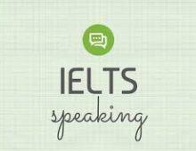 Các mẫu câu trong IELTS Speaking