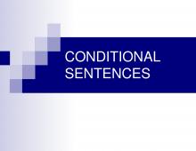 Bài tập câu điều kiện 1