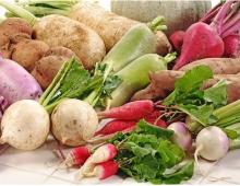 Hình ảnh tiếng Anh chủ đề các loại rau, củ, quả_p1