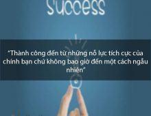 Bí quyết tư duy tích cực từ những người thành công