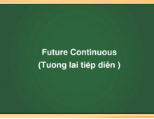 Thì tương lai tiếp diễn